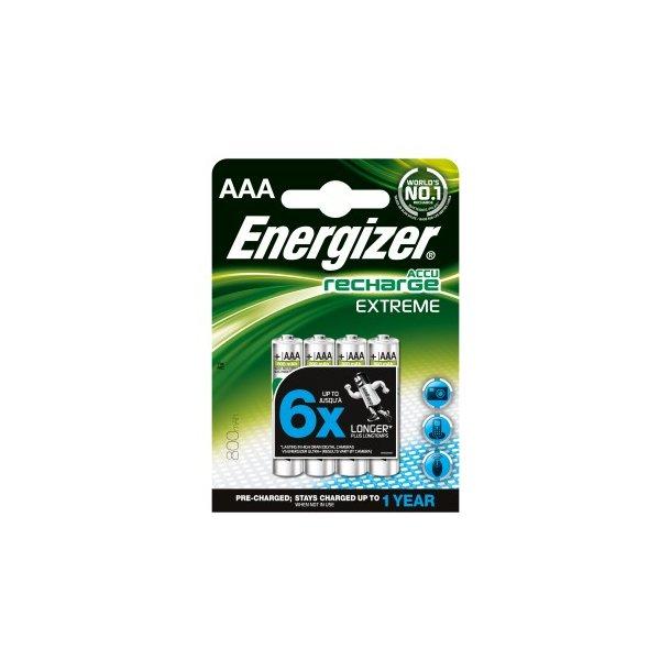 ENERGIZER 800 mAh AAA 4-pak