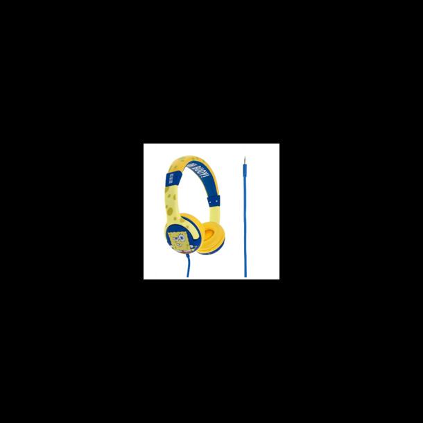 KITSOUND - SvampeBob Hovedtelefon Gul