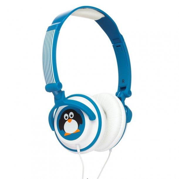 KITSOUND DOODLE Hovedtelefon Barn Volumespærret 85dB Pingvin