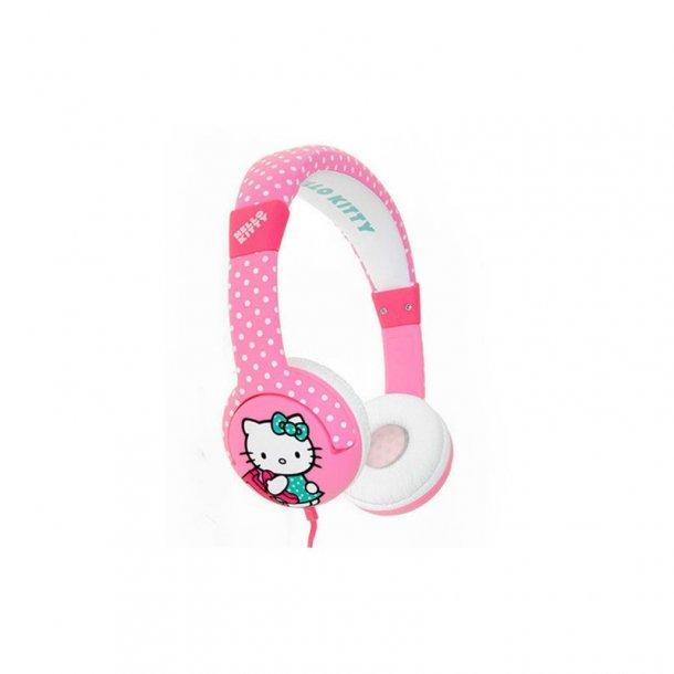 HELLO KITTY Hovedtelefon On-Ear Junior Rosa Prickig
