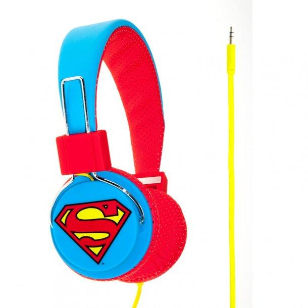 Superman Hovedtelefon Blå/Rød Junior