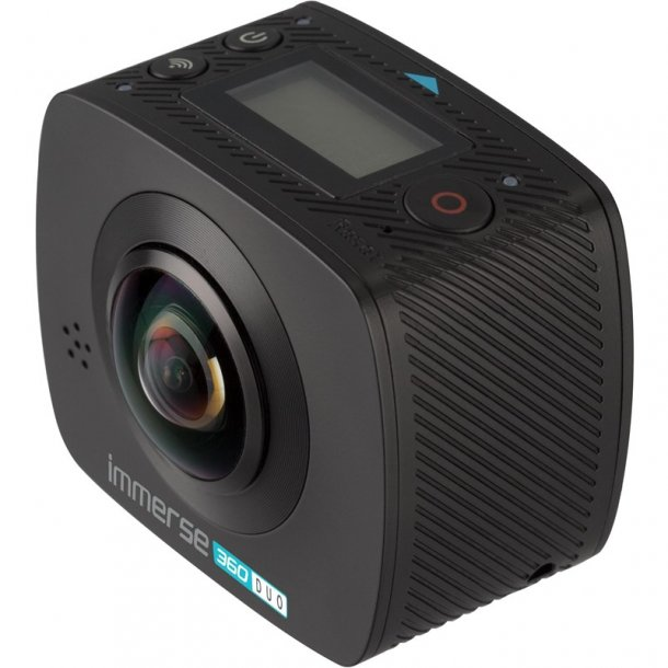 KITVISION Action Kamera Immerse 360 Dual Lens WiFi