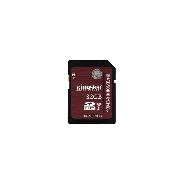 32 GB SD Kort (C10) - Kingston Professional (600x / 90 MB/s)