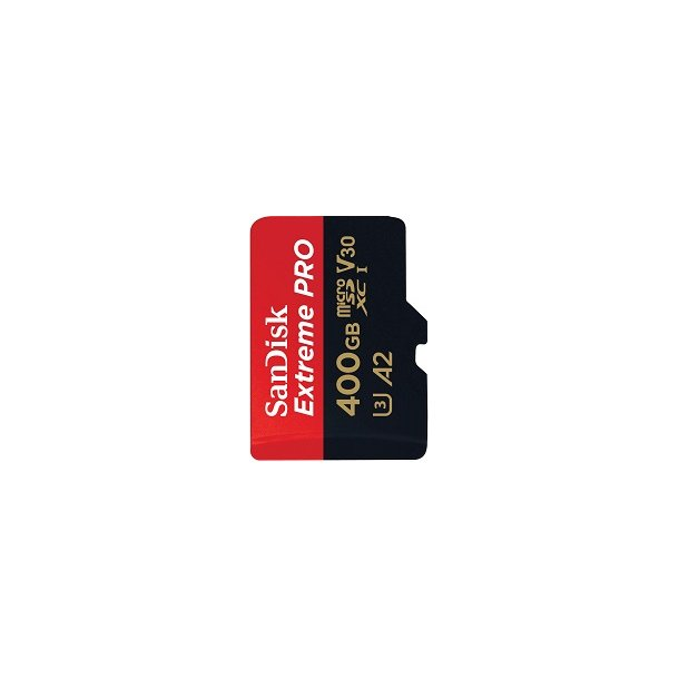 400 GB Micro SD Kort (C10) - SanDisk Extreme Pro (1133x / 170 MB/s)