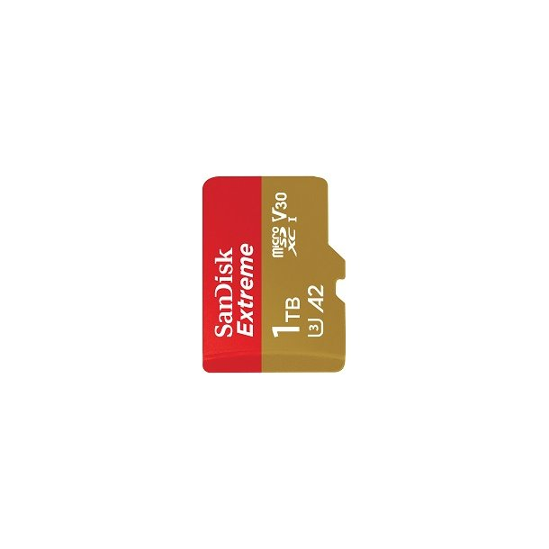 1000 GB Micro SD Kort (C10) - SanDisk Extreme (1066x / 160 MB/s)