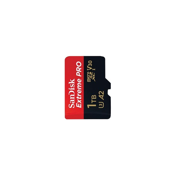 1000 GB Micro SD Kort (C10) - SanDisk Extreme Pro (1133x / 170 MB/s)
