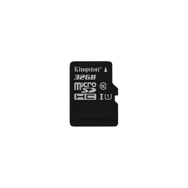 32 GB Micro SD Kort (C10) - Kingston (300x / 45 MB/s)