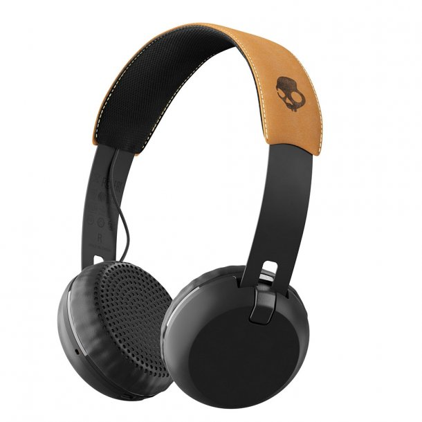Skullcandy GRIND WIRELESS Black/Black/Tan