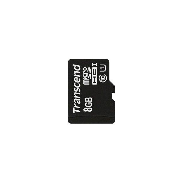 8 GB Micro SD Kort - Transcend Premium (300x / 45 MB/s)