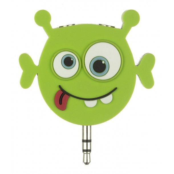 Kitsound - Minijack Headphone Splitter Alien - my Doodles