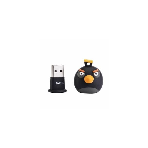 8 GB USB Stick - ANGRY BIRDS BLACK