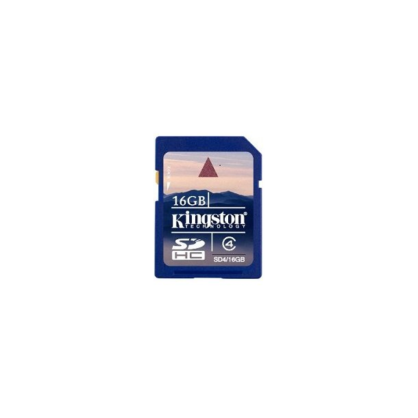 16 GB SD Kort (C4) - Kingston