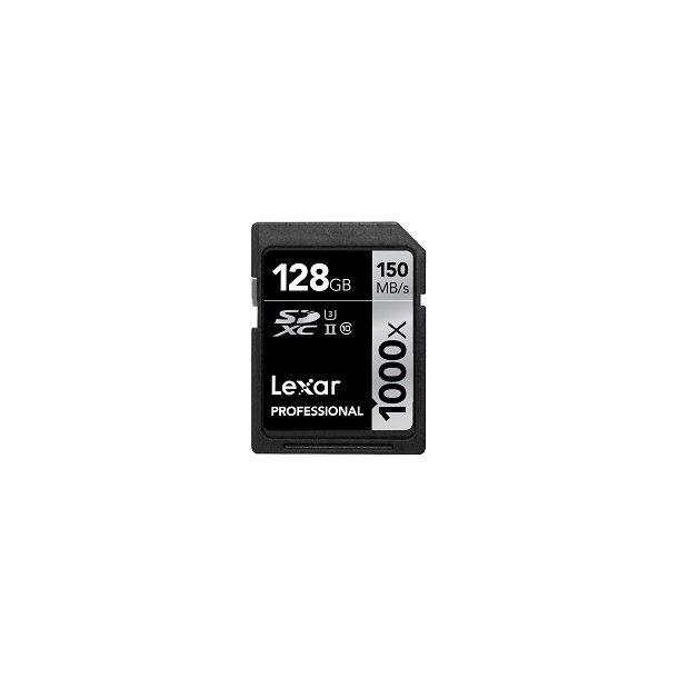 128 GB SD Kort (C10) - Lexar (1000x / 150 MB/s)