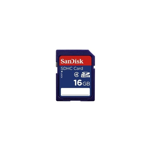 16 GB SD Kort (C4) - SanDisk