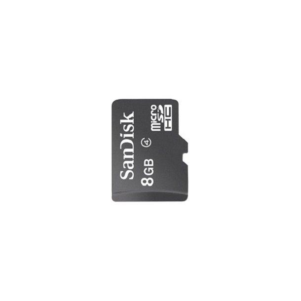8 GB Micro SD Kort (C4) - SanDisk